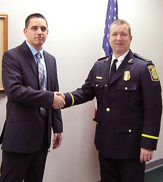 Mayville Police Sgt. Ryan Vossekuil