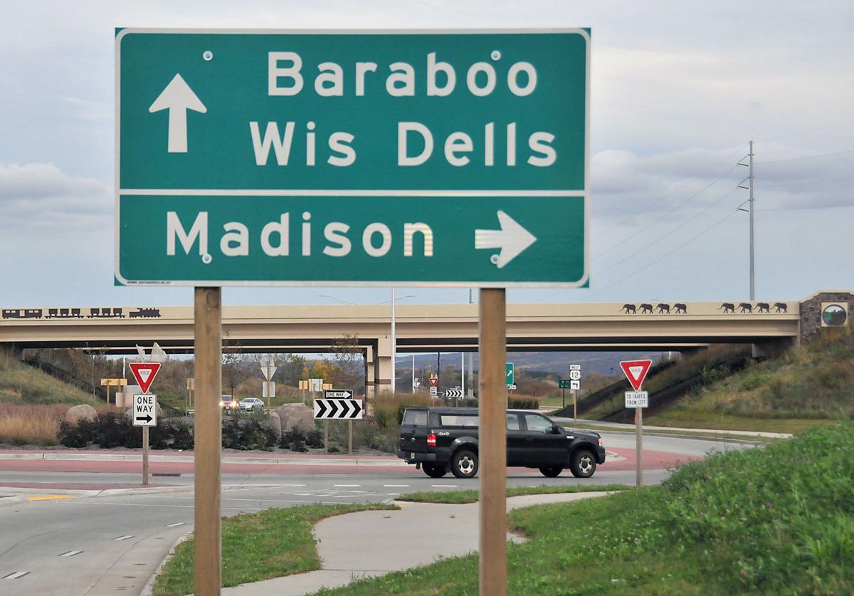 Baraboo roundabout
