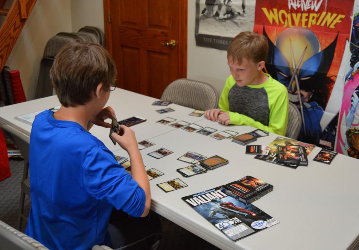 Magic players gather at Cardinal Comics and Collectibles