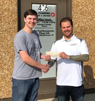 Walker awarded $1K Valedictorian Scholarship