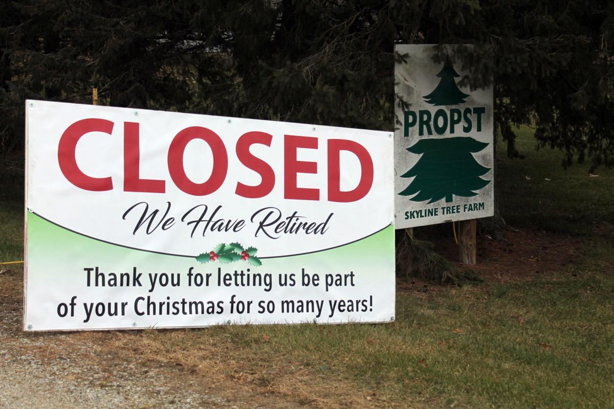 Tree farm closes
