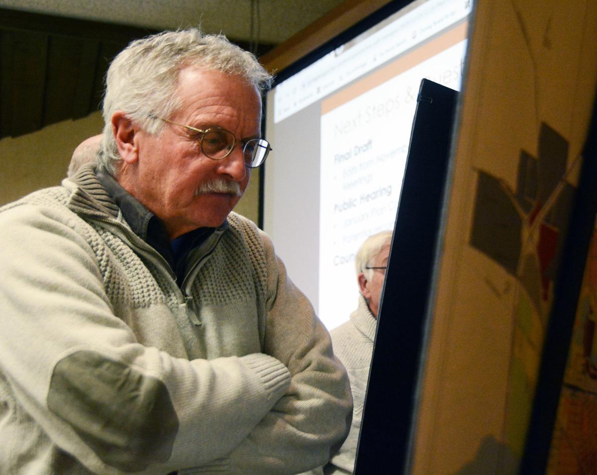 Portage Plan Commission member Chuck Sulik