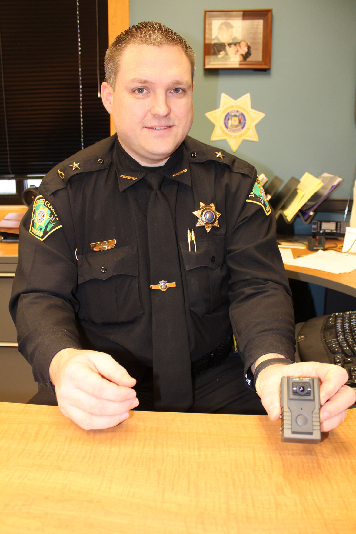 Dodge County Sheriff are now gathering evidence with body cameras