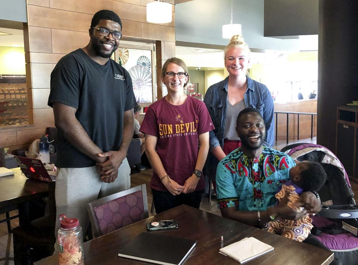Grad student team creates class for African country