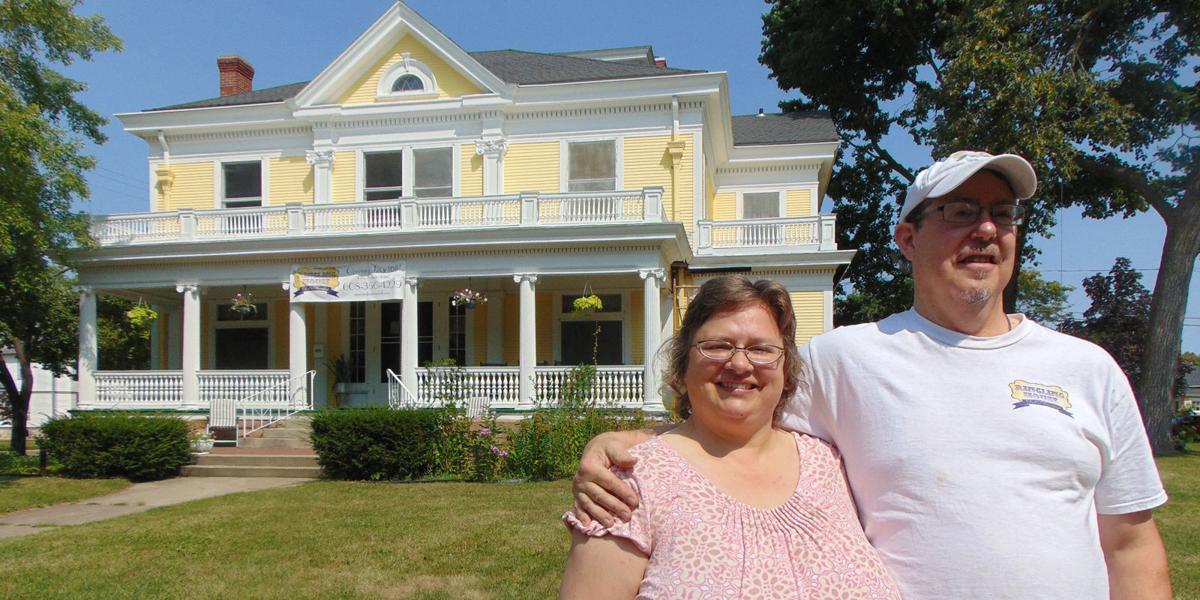 Stuart Koehler and Julie Hearley