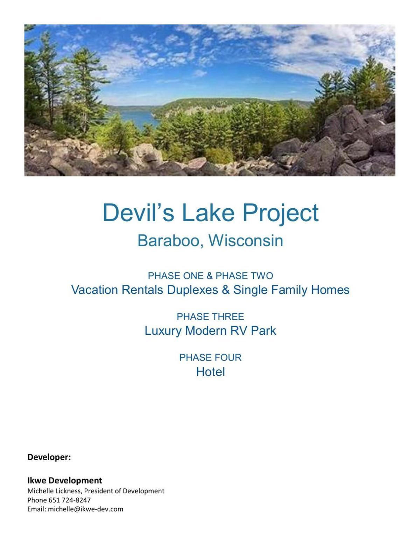 Devil's Lake Project proposal