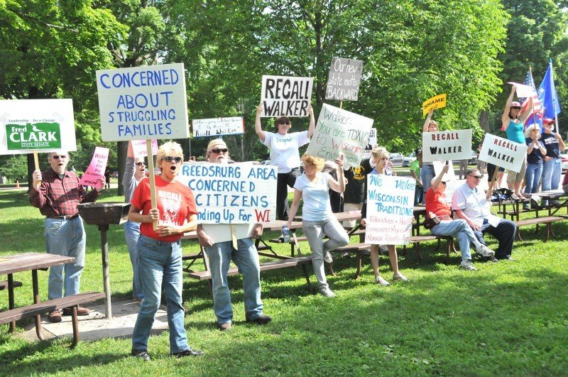 Protesters overshadow Devil's Lake centennial