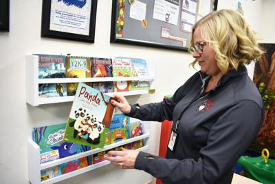 Sauk County Health Department mobile library