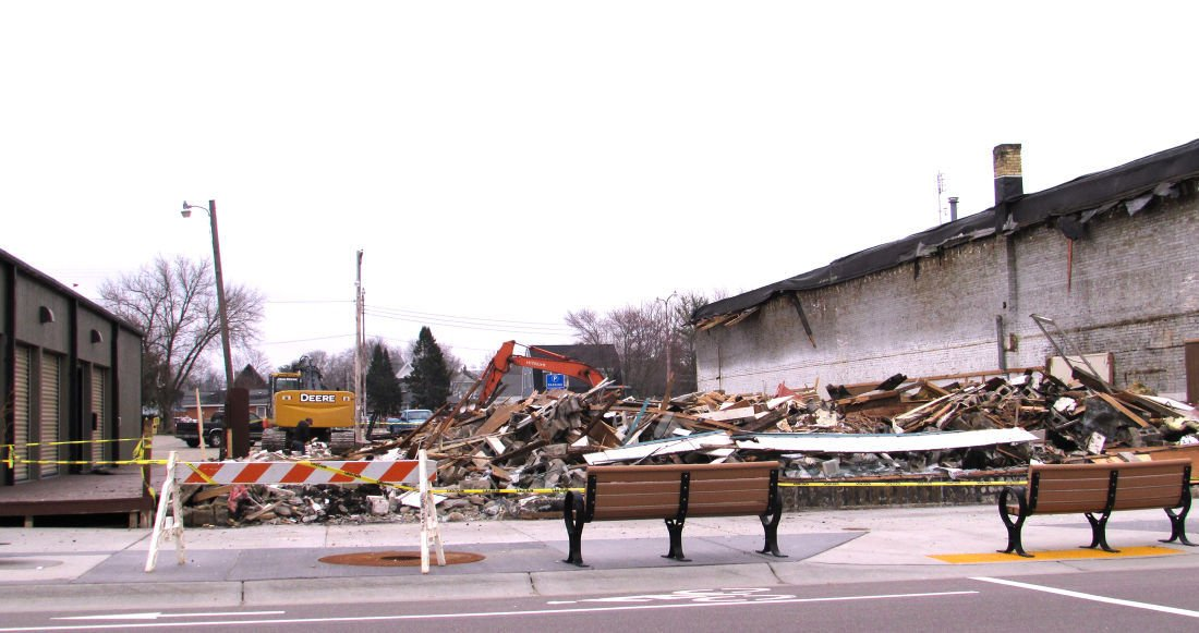 9e33335deba37 Antique Mall in downtown Wisconsin Dells demolished   News ...