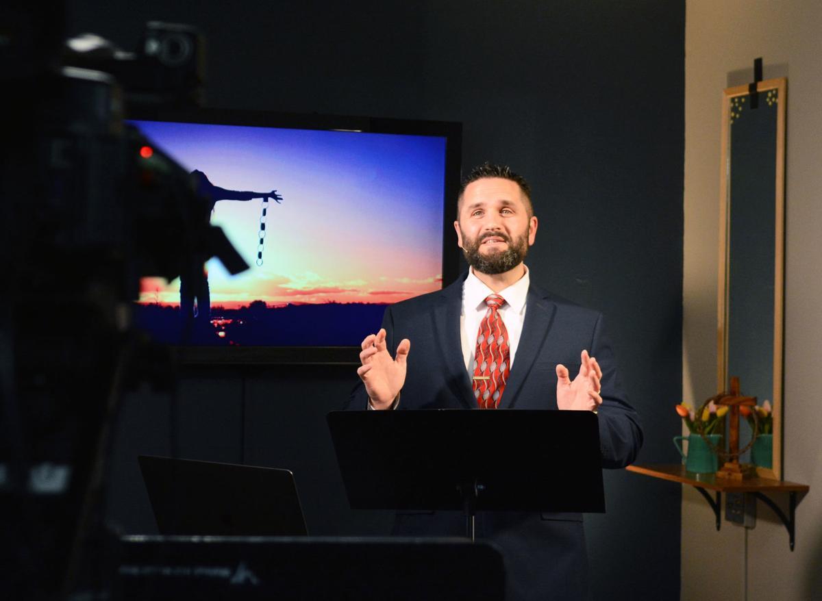 Rev. Dan Gunderson recording service
