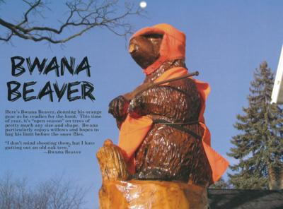 Beaver calendar page