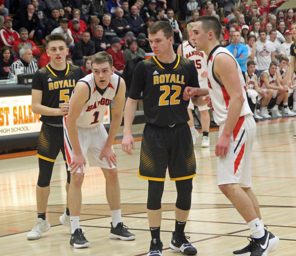 Royall vs. Bangor boys basketball