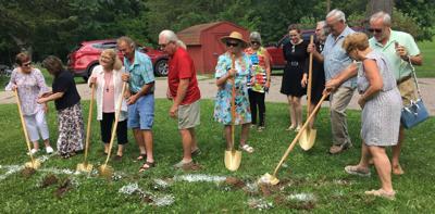 Merrimac church breaks ground on new addition