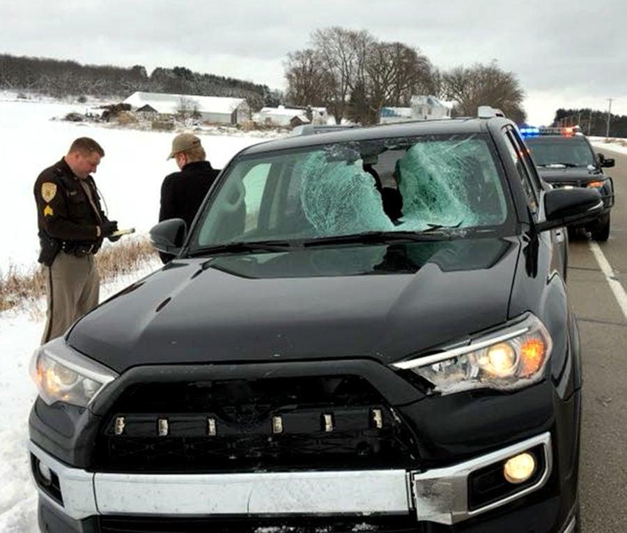 Highway 33 Ice Crash