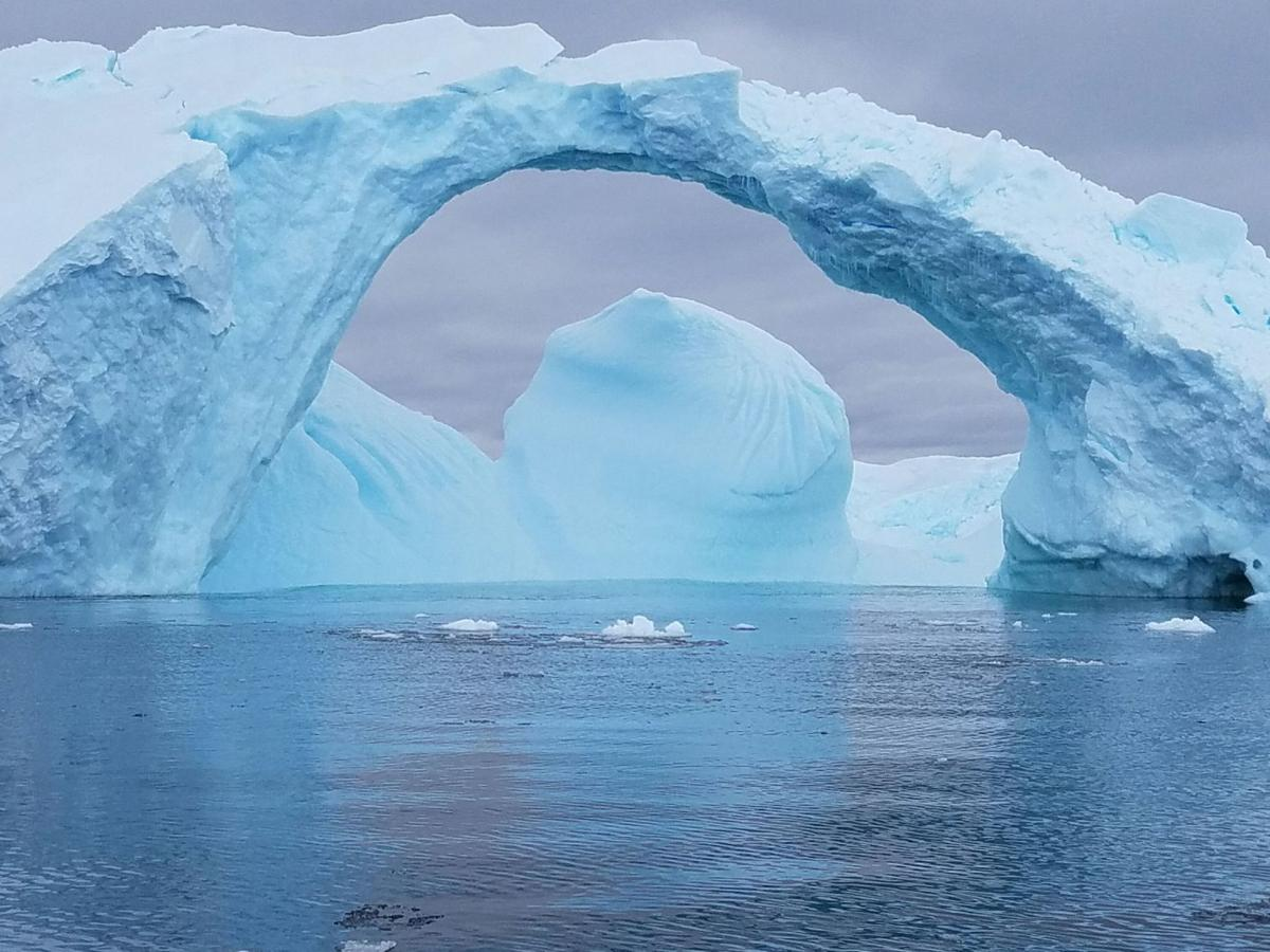 Below Antarctic Circle