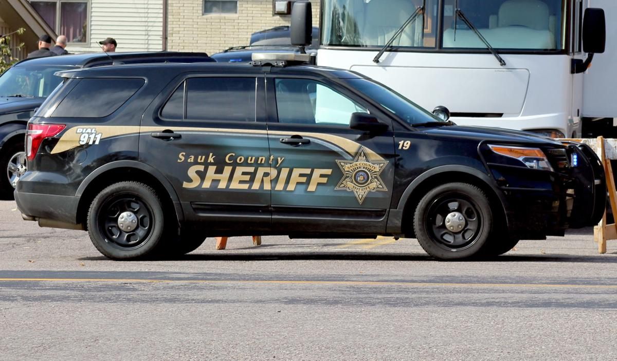 Sauk County Sheriff's Office vehicle for web