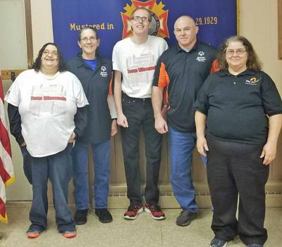 Special Olympic swimmers