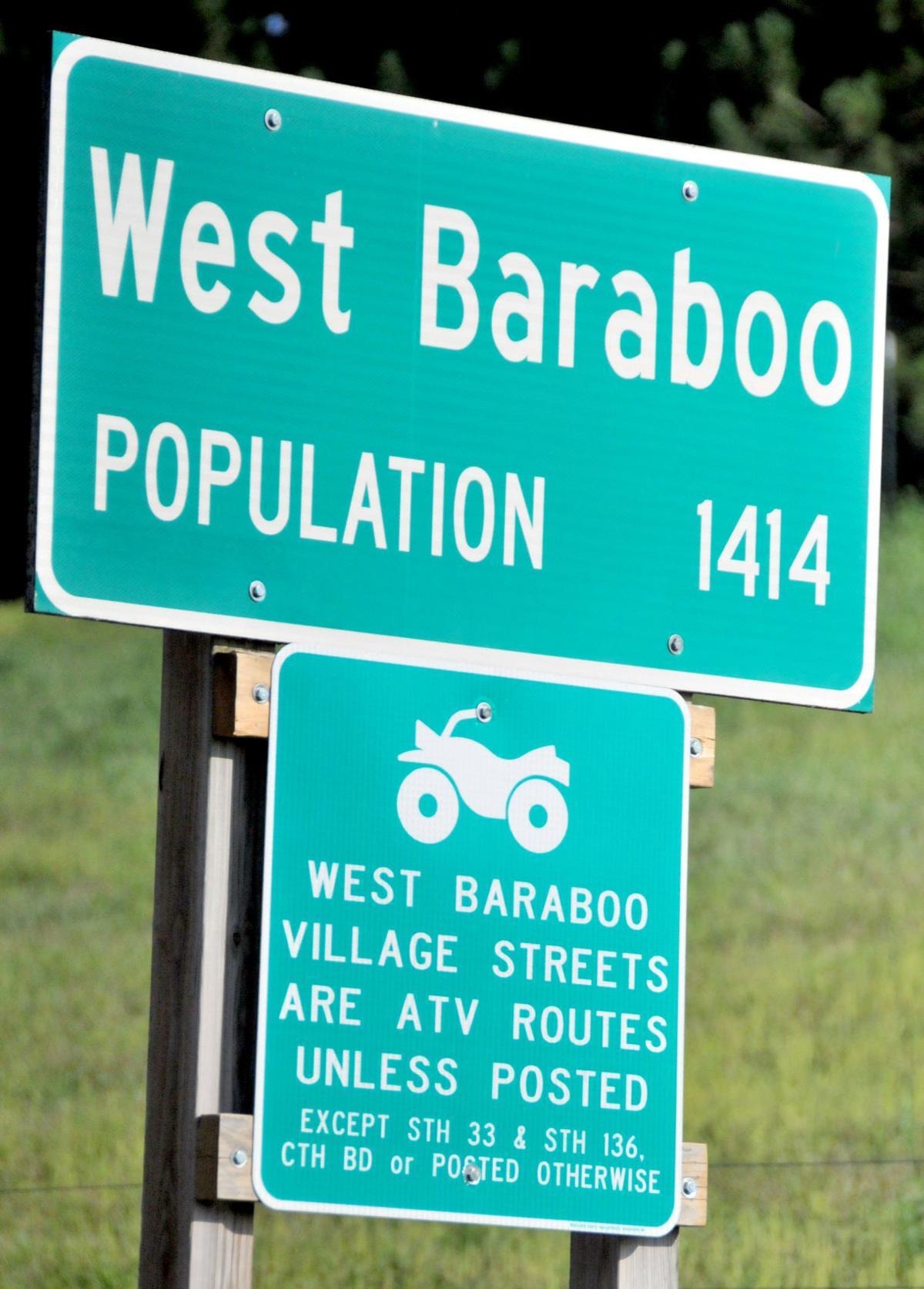 West Baraboo ATV sign