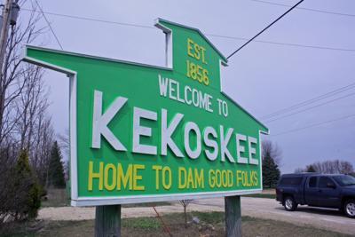 Kekoskee sign (copy) (copy) (copy)