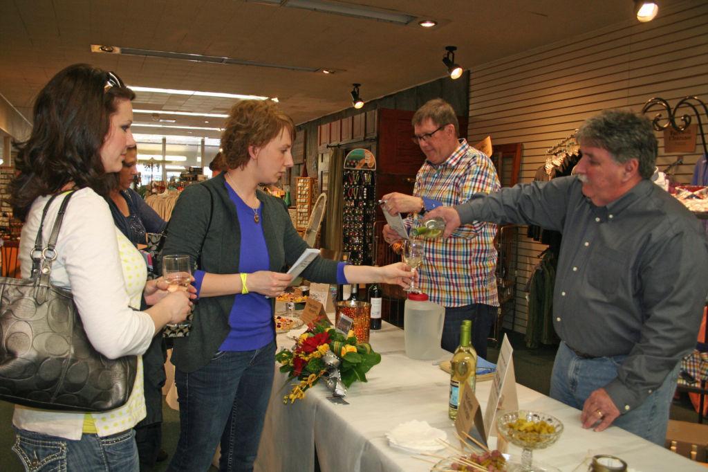 Participants visit Broadway shop (copy)