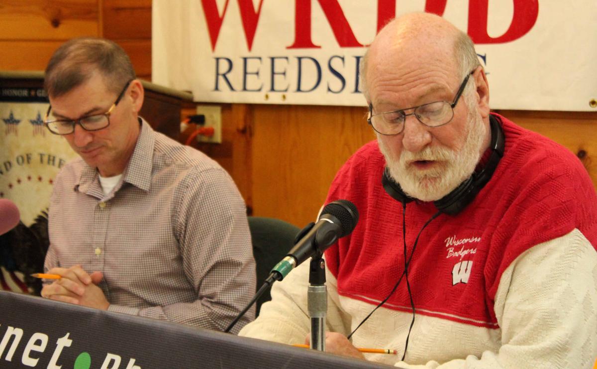 Todd and Pat read bids