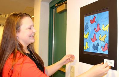 Beaver Dam Elementary School Artwork Displayed In Movie Theater