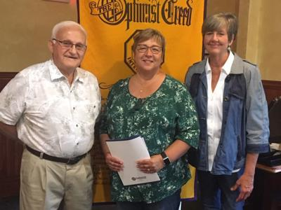 Optimist Club inducts newest member