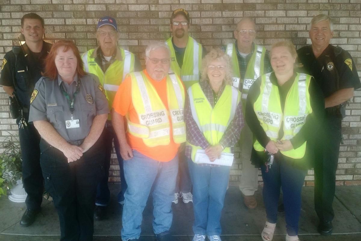 Crossing guards treated to breakfast