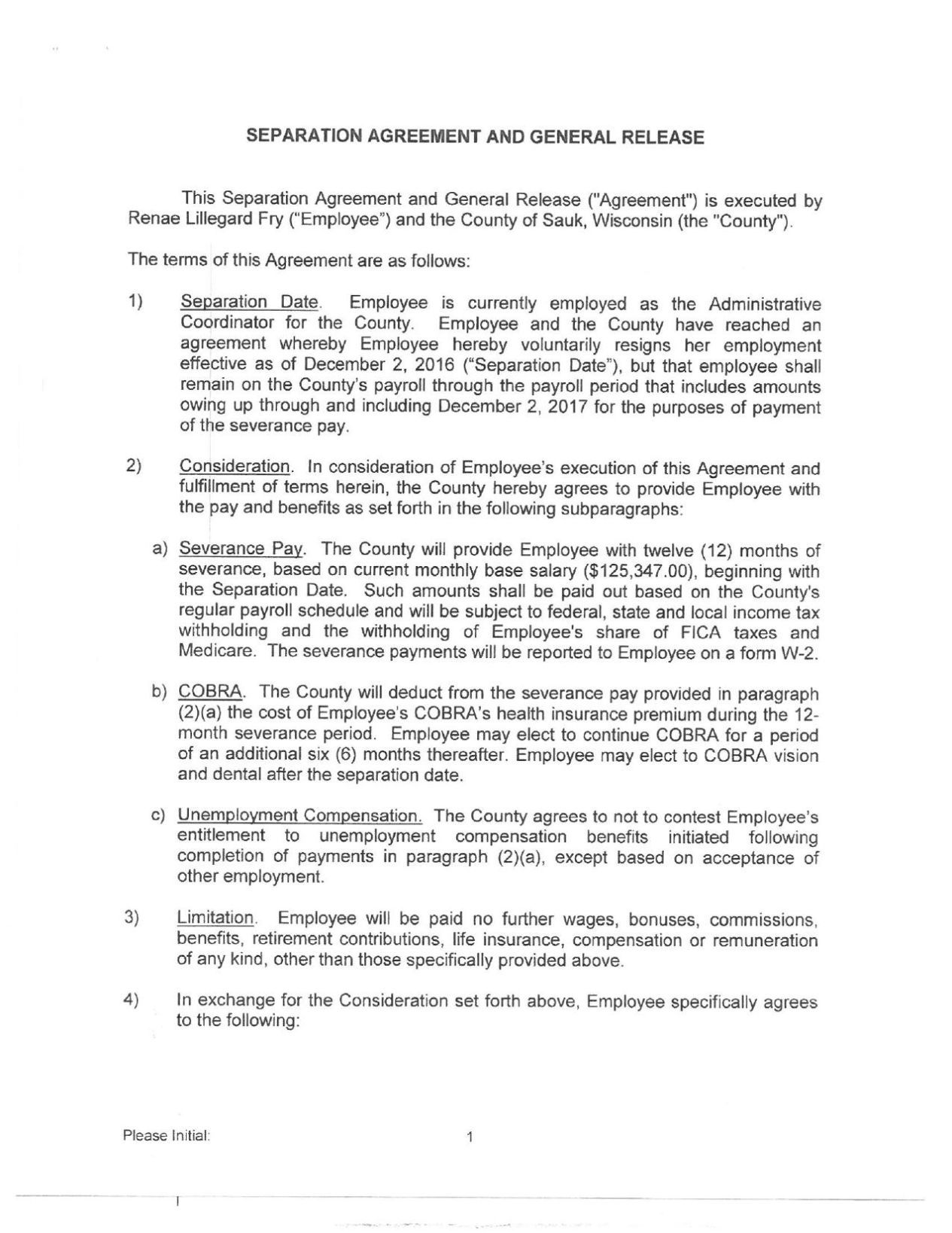 Download PDF Renae Fry Separation Agreement