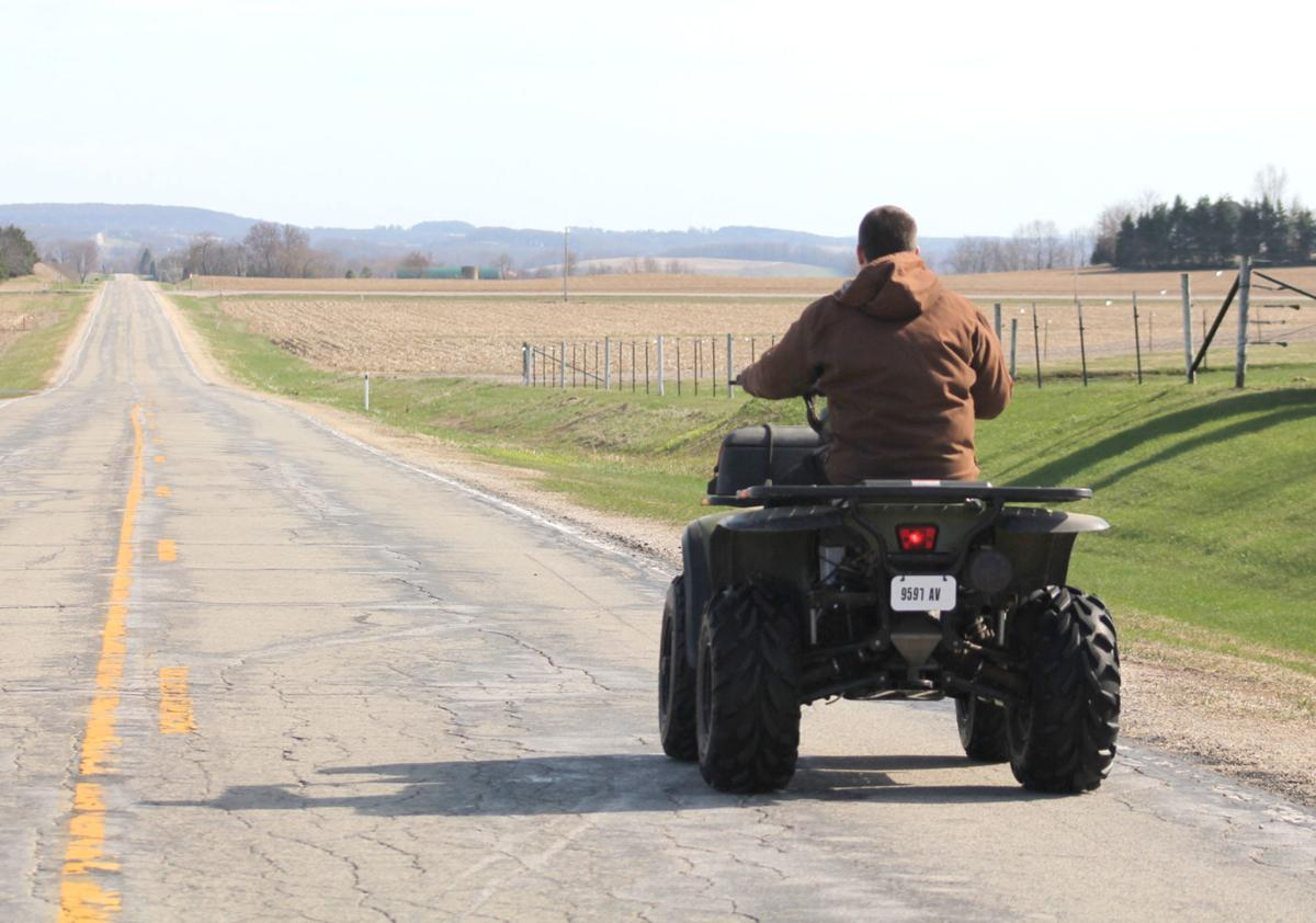 ATV access on county roads