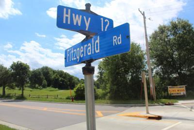 Fitzgerald Road sign Dells (copy)
