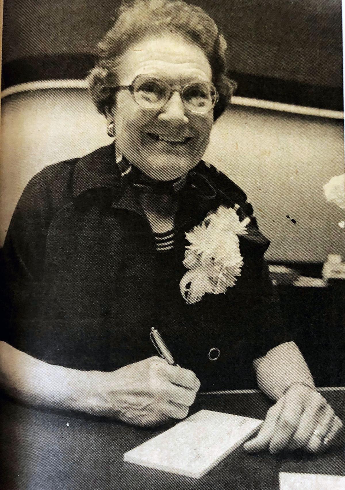 1981 Martha Huggett
