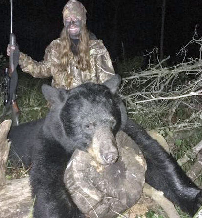 Selina Walters bear
