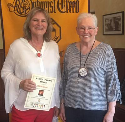 Optimist Club learns about Gentle Relief