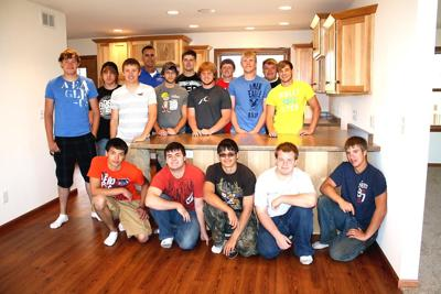 Mauston High School construction class completes new house