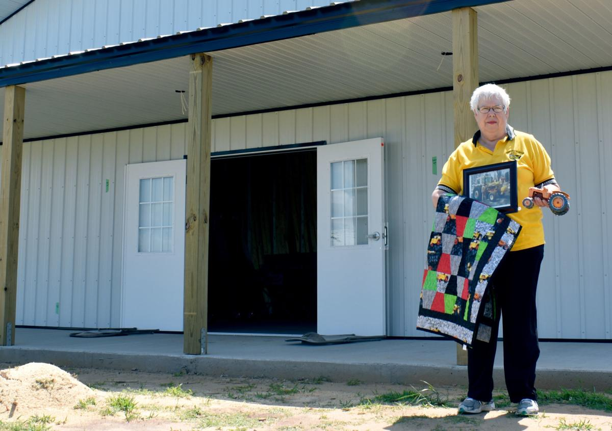 New building at Badger Steam & Gas Show honors Baraboo farmer