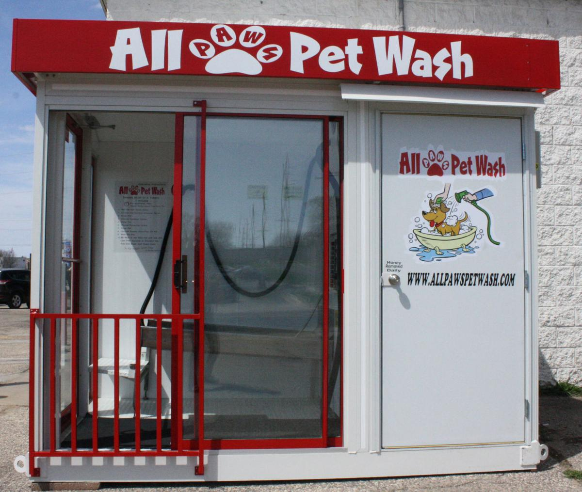 Self service pet wash opens in mauston regional news wiscnews self service pet wash opens in mauston solutioingenieria Image collections