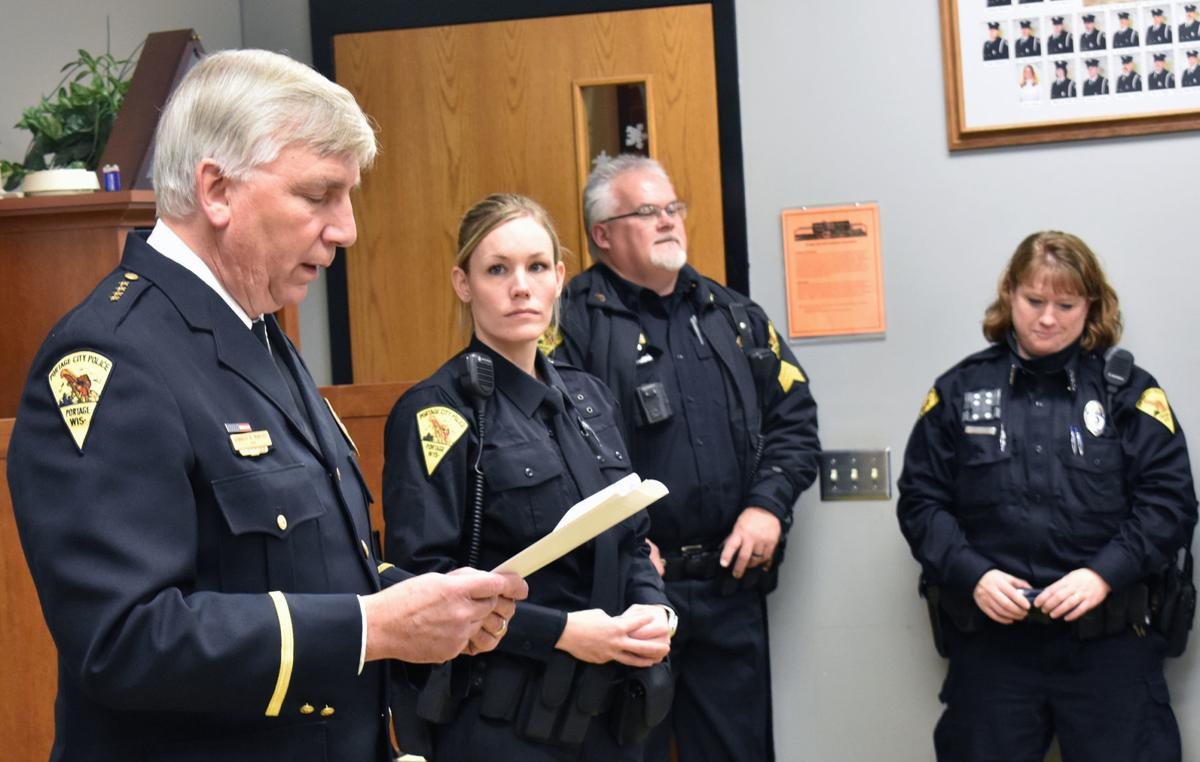 Chief welcomes newest officer