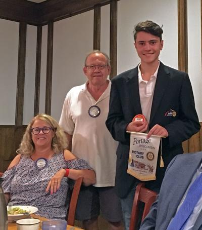 Rotary welcomes exchange student