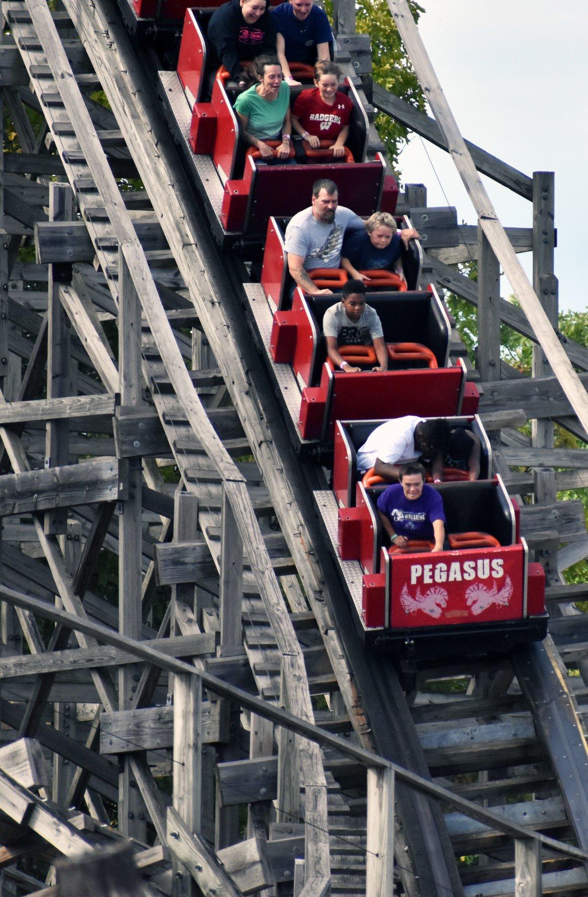 Pegasus coaster at Mt. Olympus