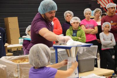Food packing event is Oct. 30, 31 and Nov. 1