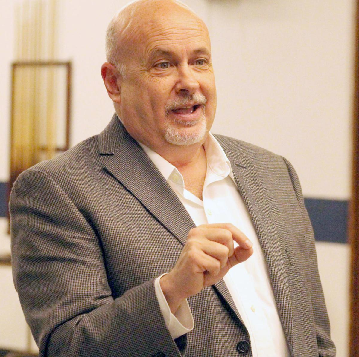 Mark Pocan at town hall