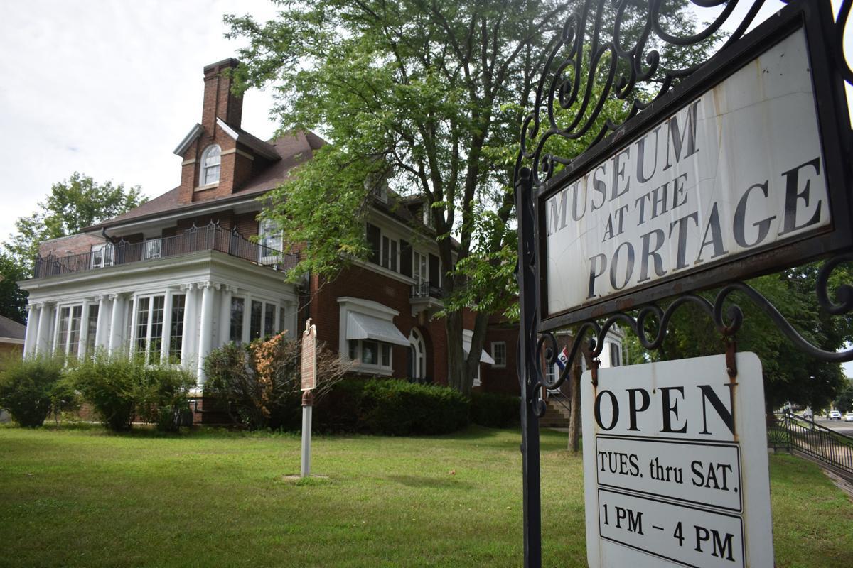 Portage museum left facing shot