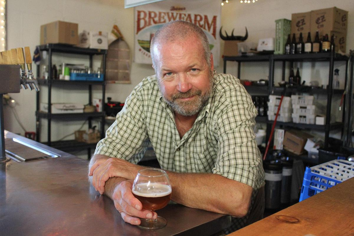 Dave Anderson of Dave's BrewFarm is both a beer brewer and a certified beer judge.