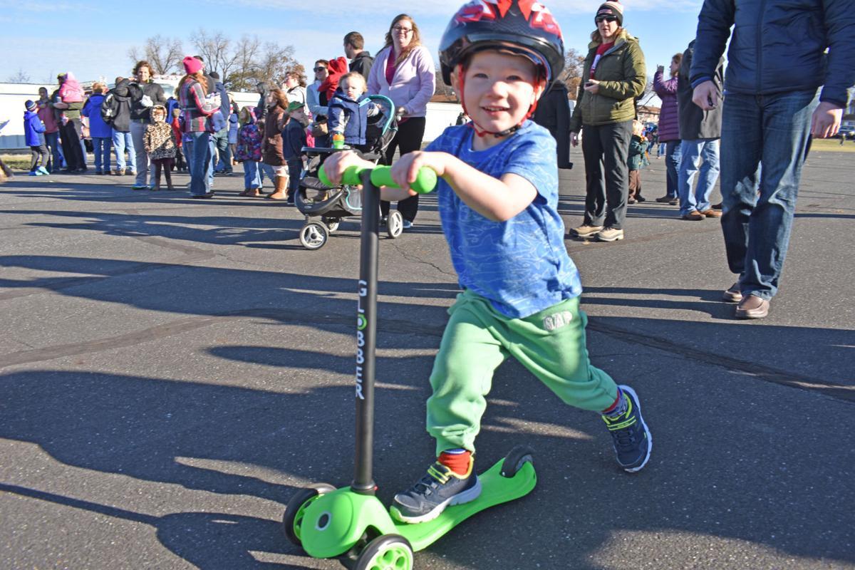 Santa Henry's scooter