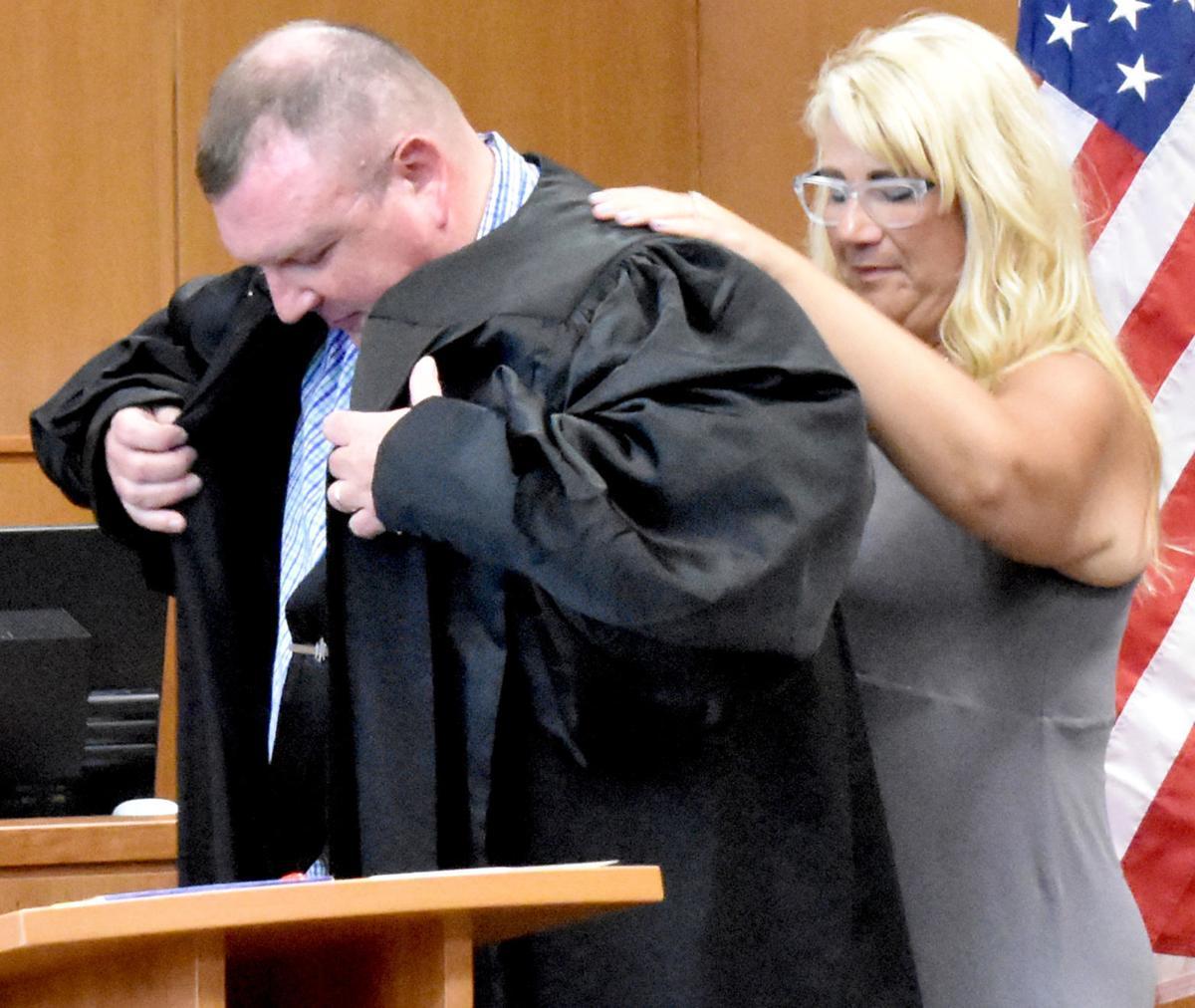 Judge Troy Cross Swearing In