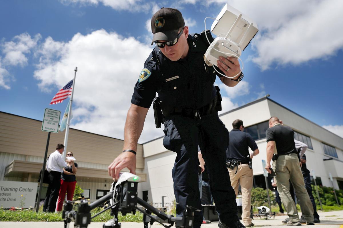 Madison police unveil drones Monday