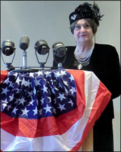 Eleanor Roosevelt portrayal