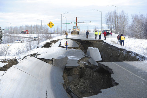 Alaska surveys damage from major earthquakes (copy)