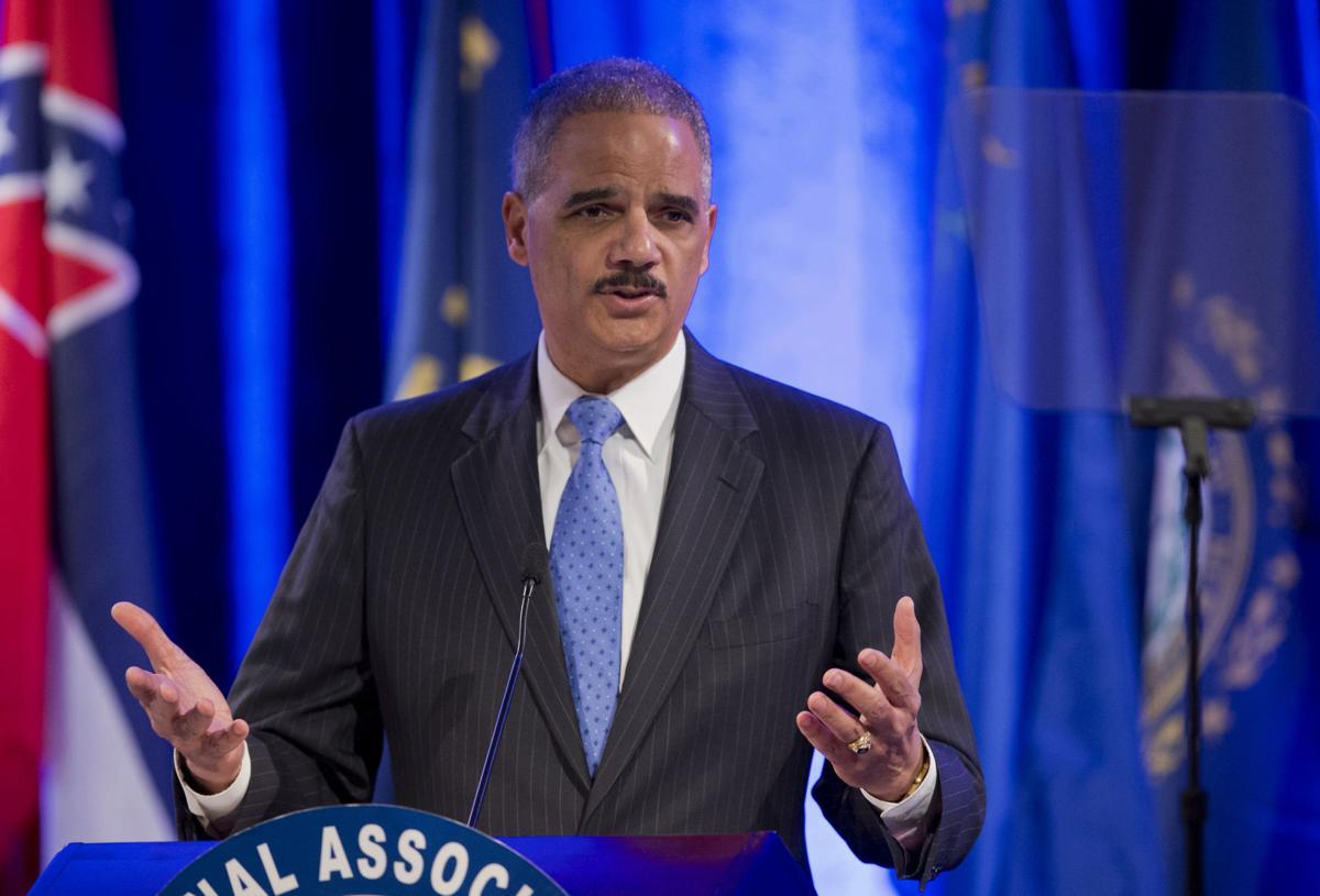 Former Attorney General Eric Holder